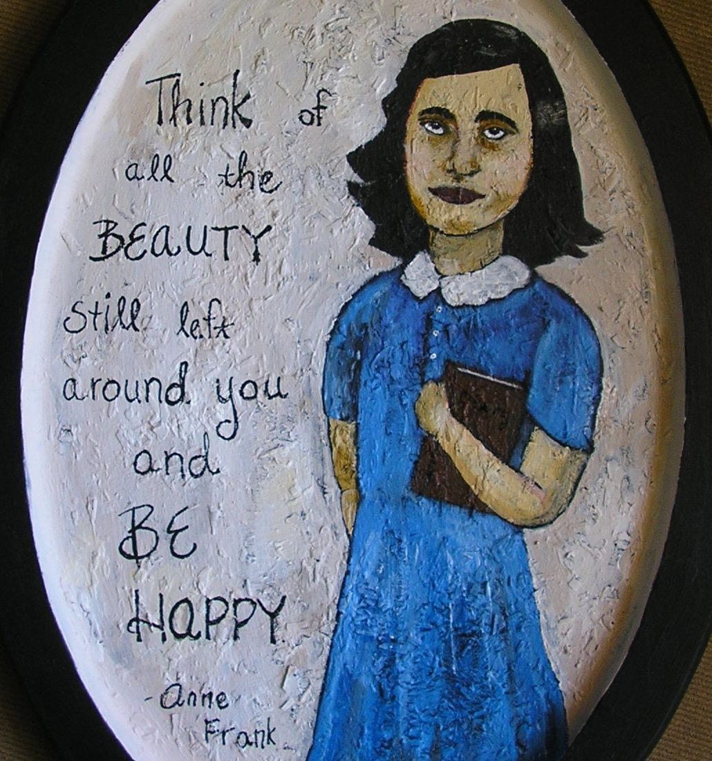 Anne Frank ORIGINAL painting
