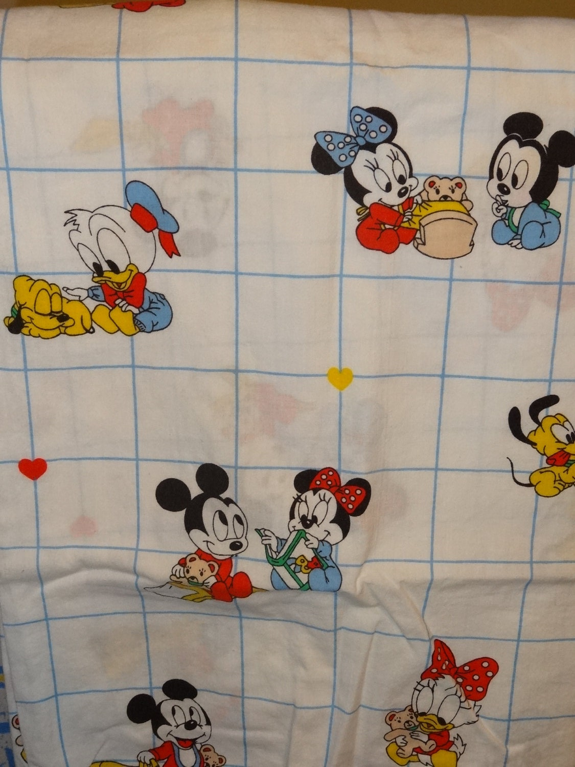 Items Similar To New Vintage Dundee Disney Babies Mickey