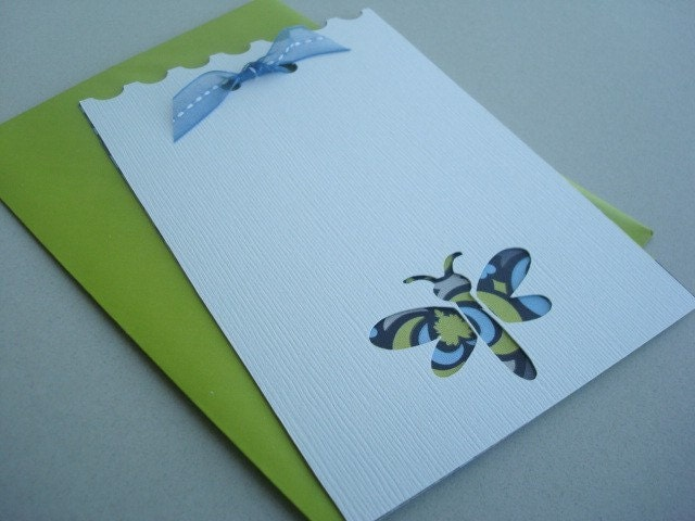 12 Ivory Dragonfly Note Cards with Envelopes