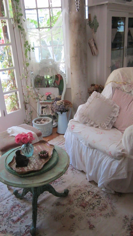 Milli Home Decorative Pillows : Vintage white lace pillow ruffles shabby by Vintagewhitecottage vintage shabby live Pinterest