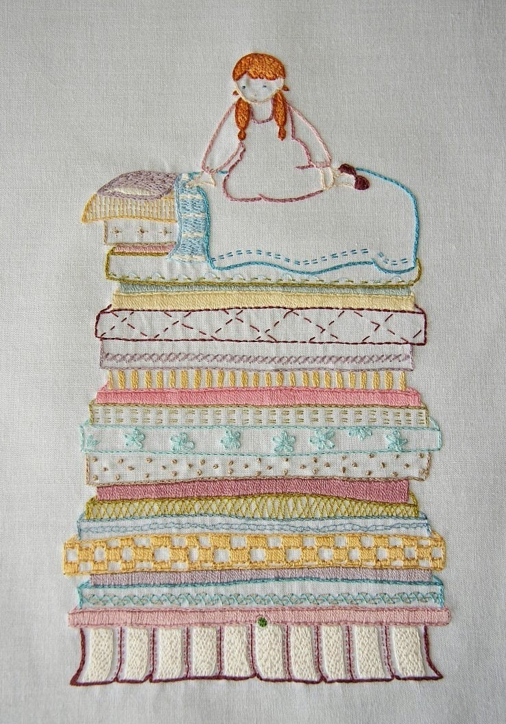 Embroidery sampler patterns « origami