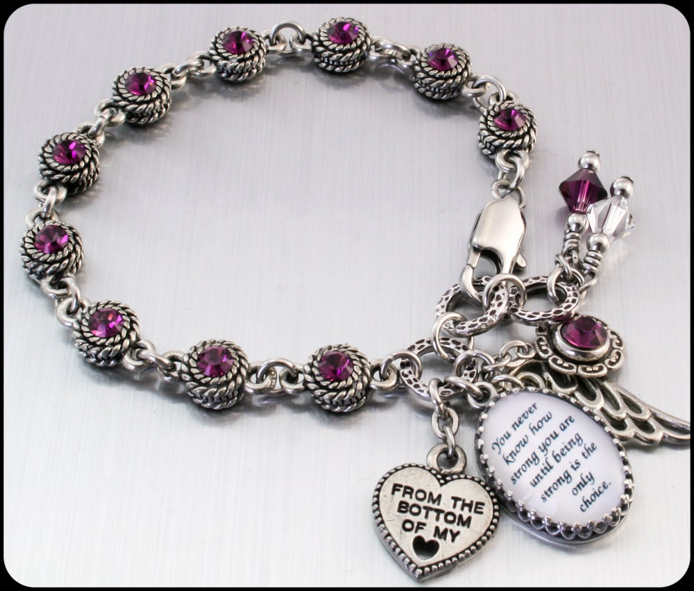 Personalized Inspirational Jewelry By Blackberrydesigns On