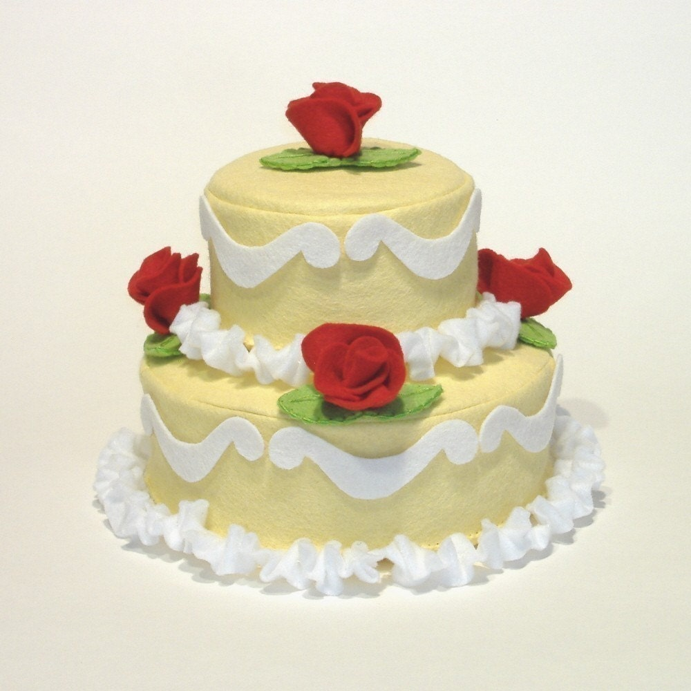 Cake Decorator Felt Food PDF Pattern