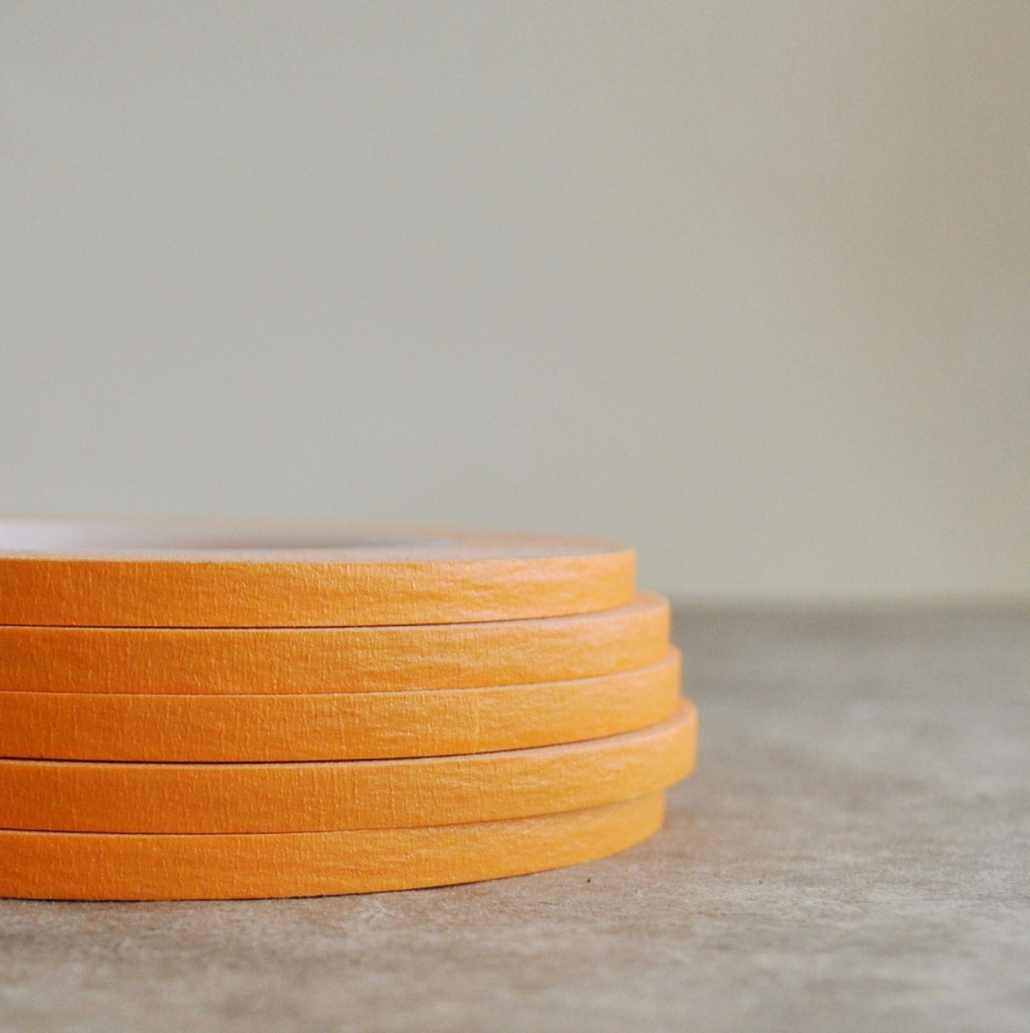 SALE orange - crepe masking tape - 60 yards