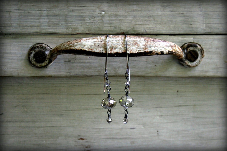 Silver Sparkle Dangle - SacredRiverDesigns