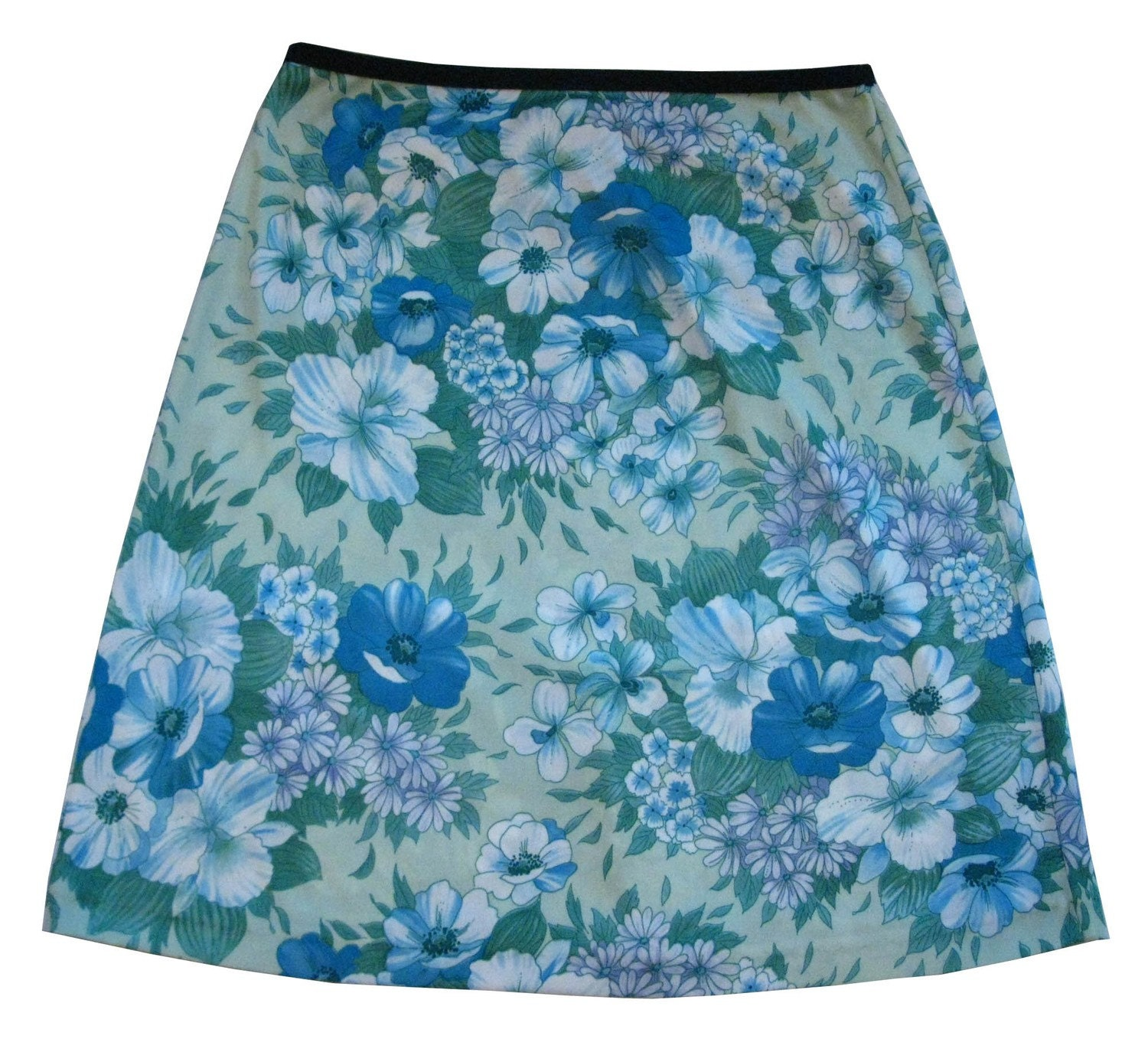 A-line pull on skirt