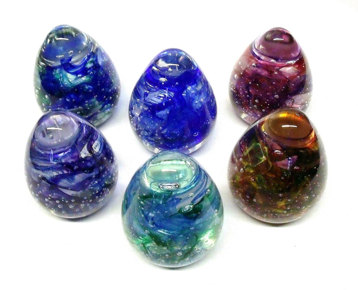 Hanformed Glass Easter Eggs