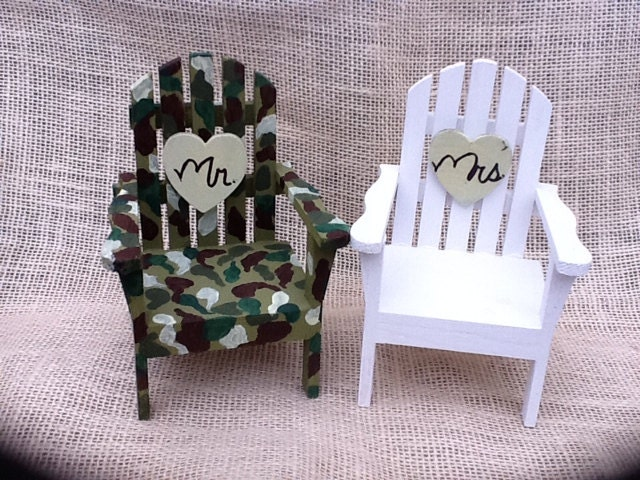 how to make adirondack chairs out of fondant