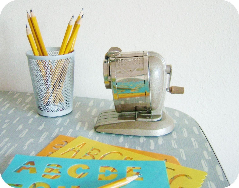 vintage pencil sharpener