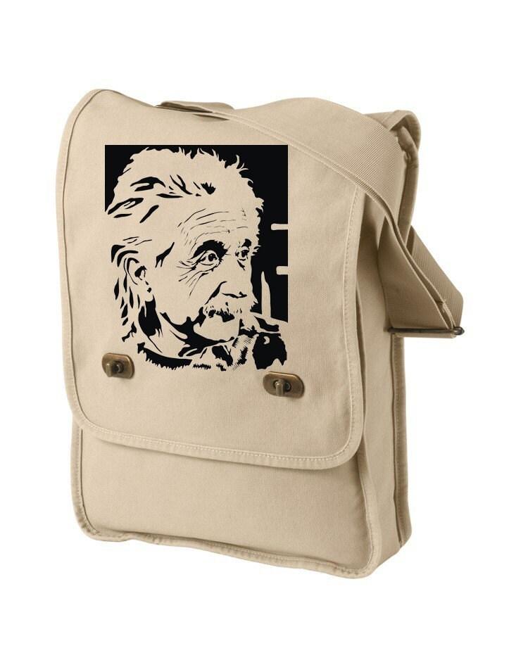 Canvas Field Bag-Albert E