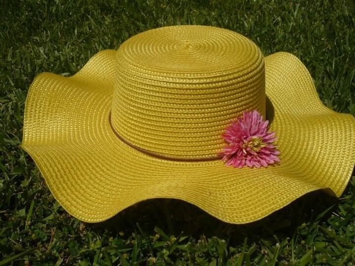 Yellow Floppy Hat