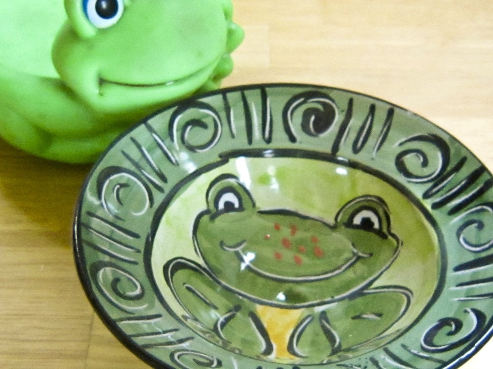 Salamander In Ceramic Clay Have A Handmade Tea Party