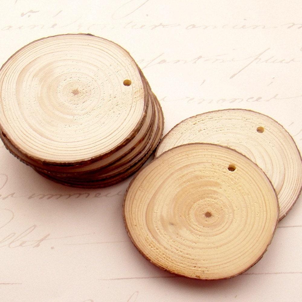 Round wood blanks