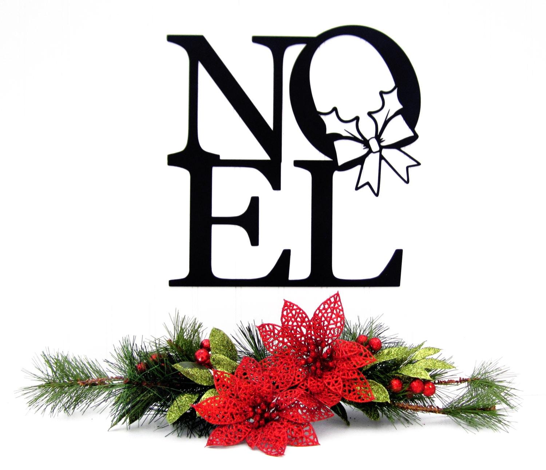 Noel metal wall art christmas decor by refinedinspirations