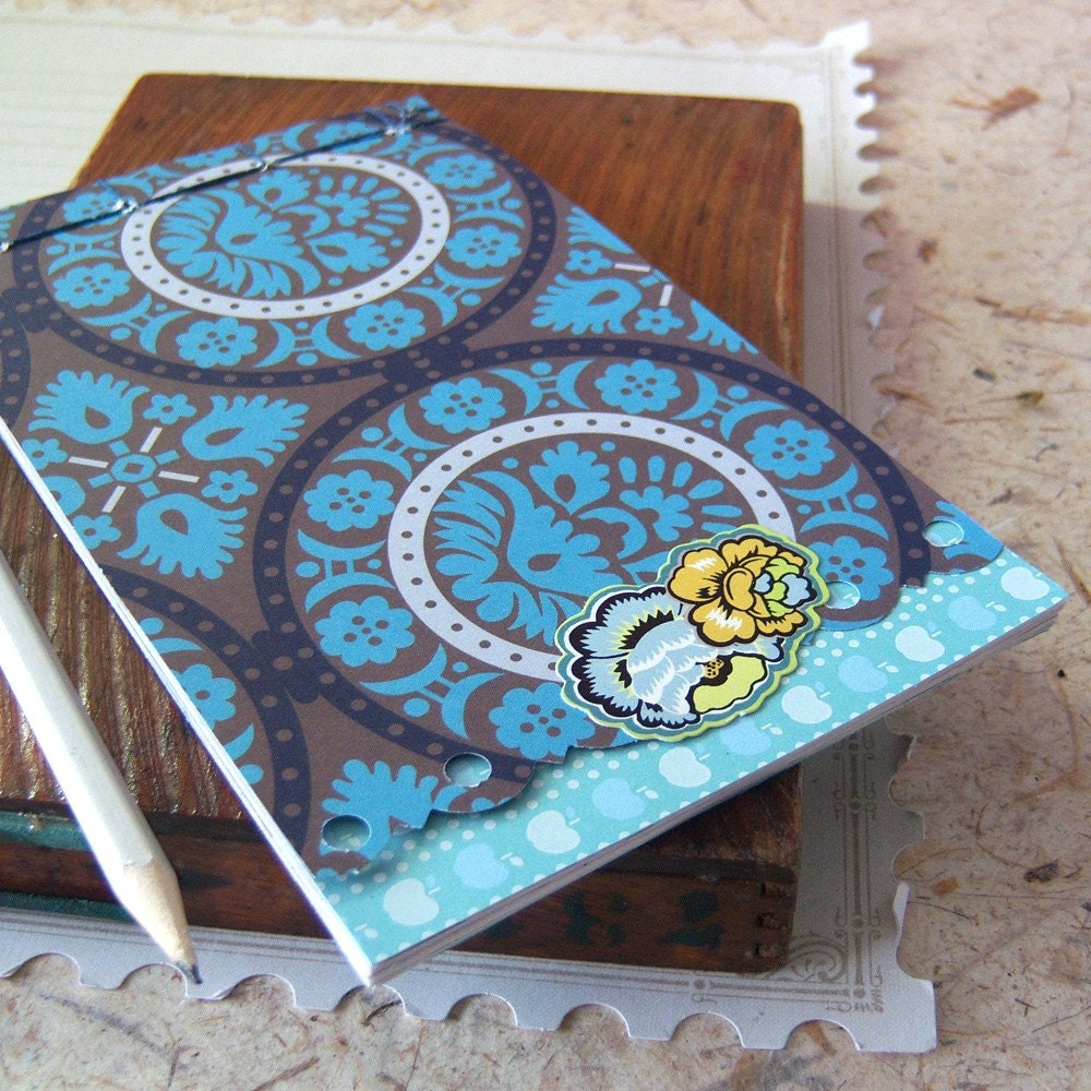 recycled pages journal - Frosted