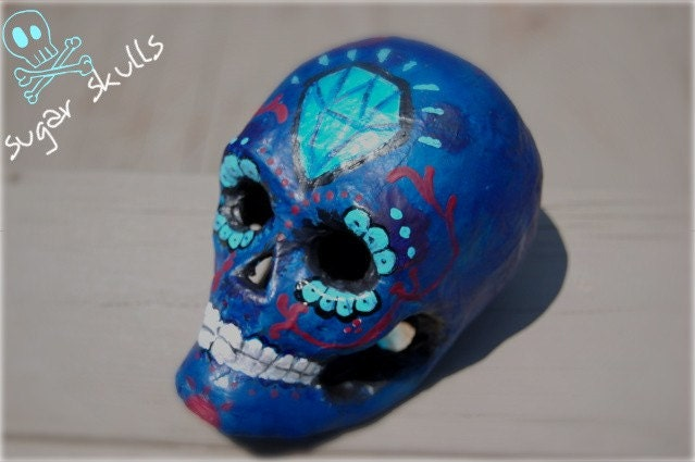 mexican day of dead tattoos. DIAMONDS ARE FOREVER - tattoo