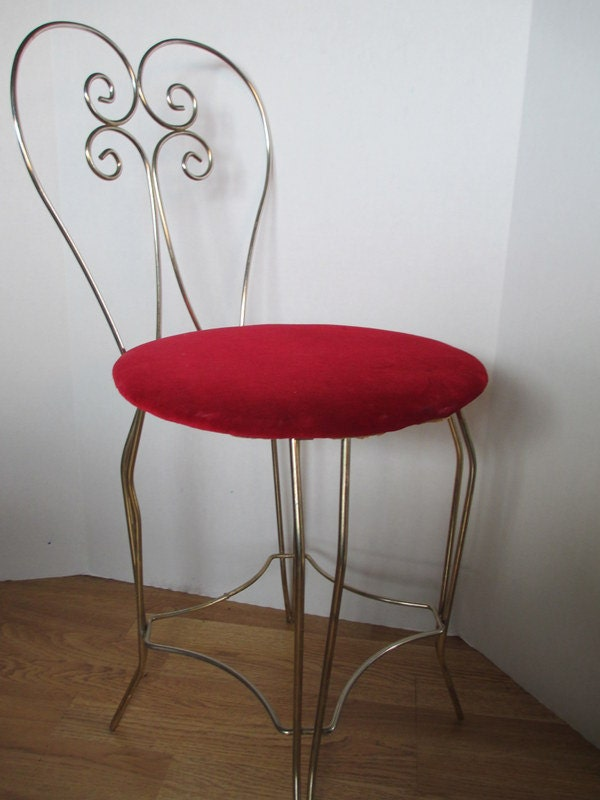 Unavailable listing on etsy for Boudoir stoel