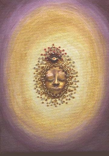 Spiritual Awakening - Original Painting 6 x 8