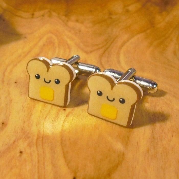 Yummy Toast Cufflinks