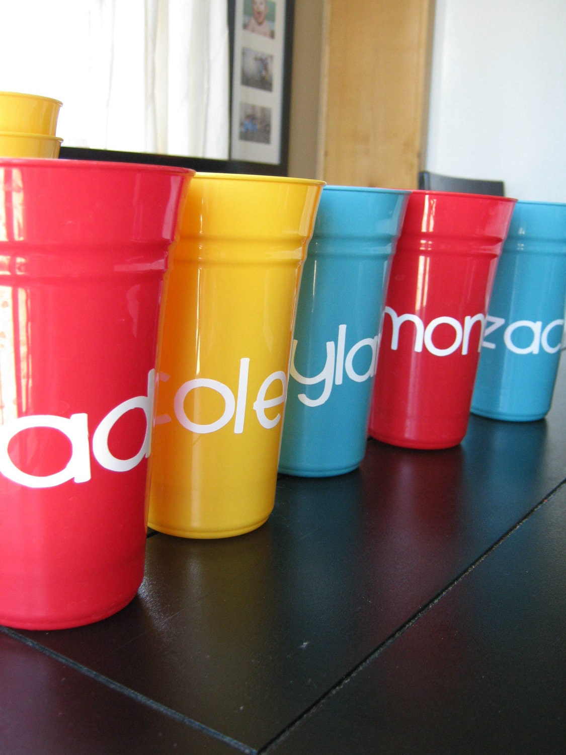 Set of Personalized Cups