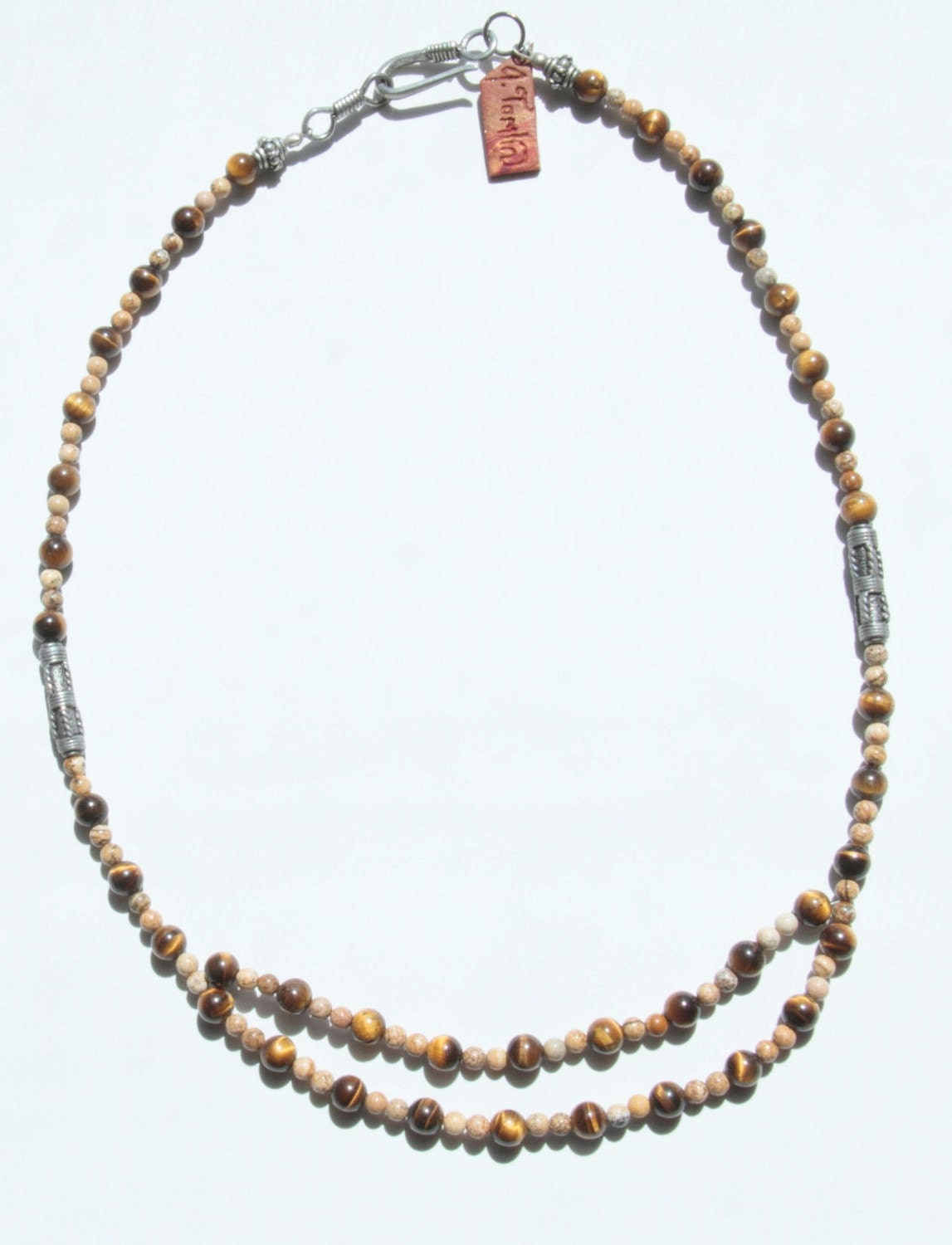 Tiger in the Jasper Necklace