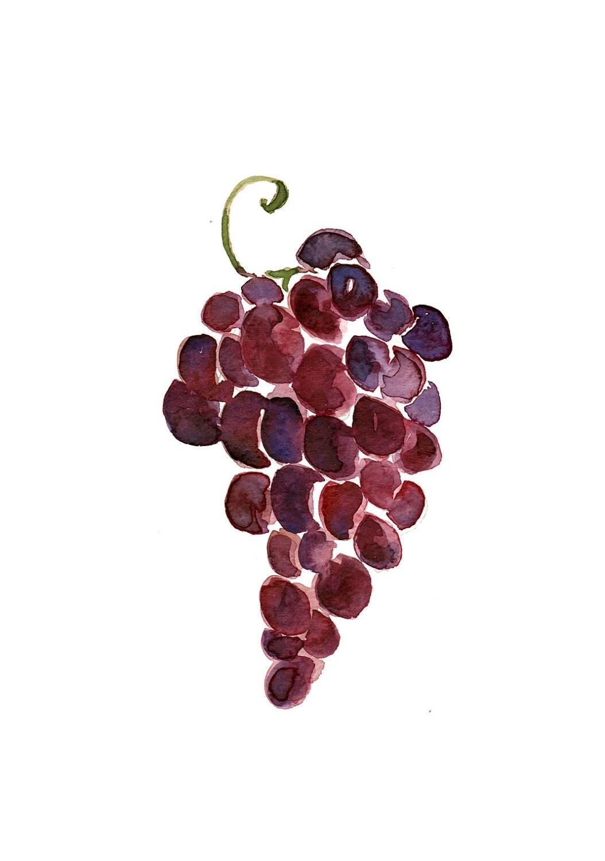 Aubergine Wine Glass