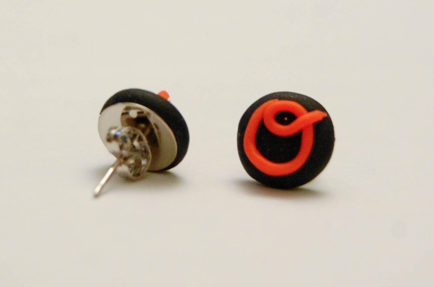 Orioles Pride Earrings