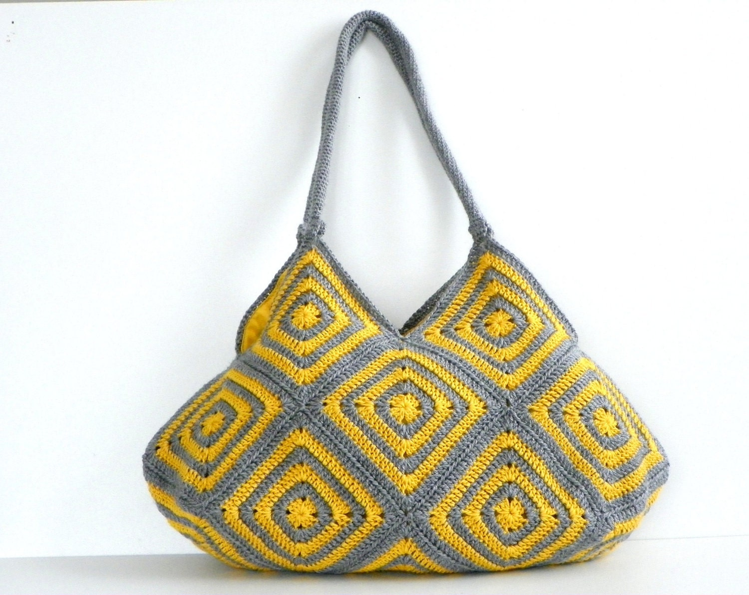 NzLbags New - Summer Bag Afghan Crochet Bag, Handbag - Shoulder Bag Nr-0183