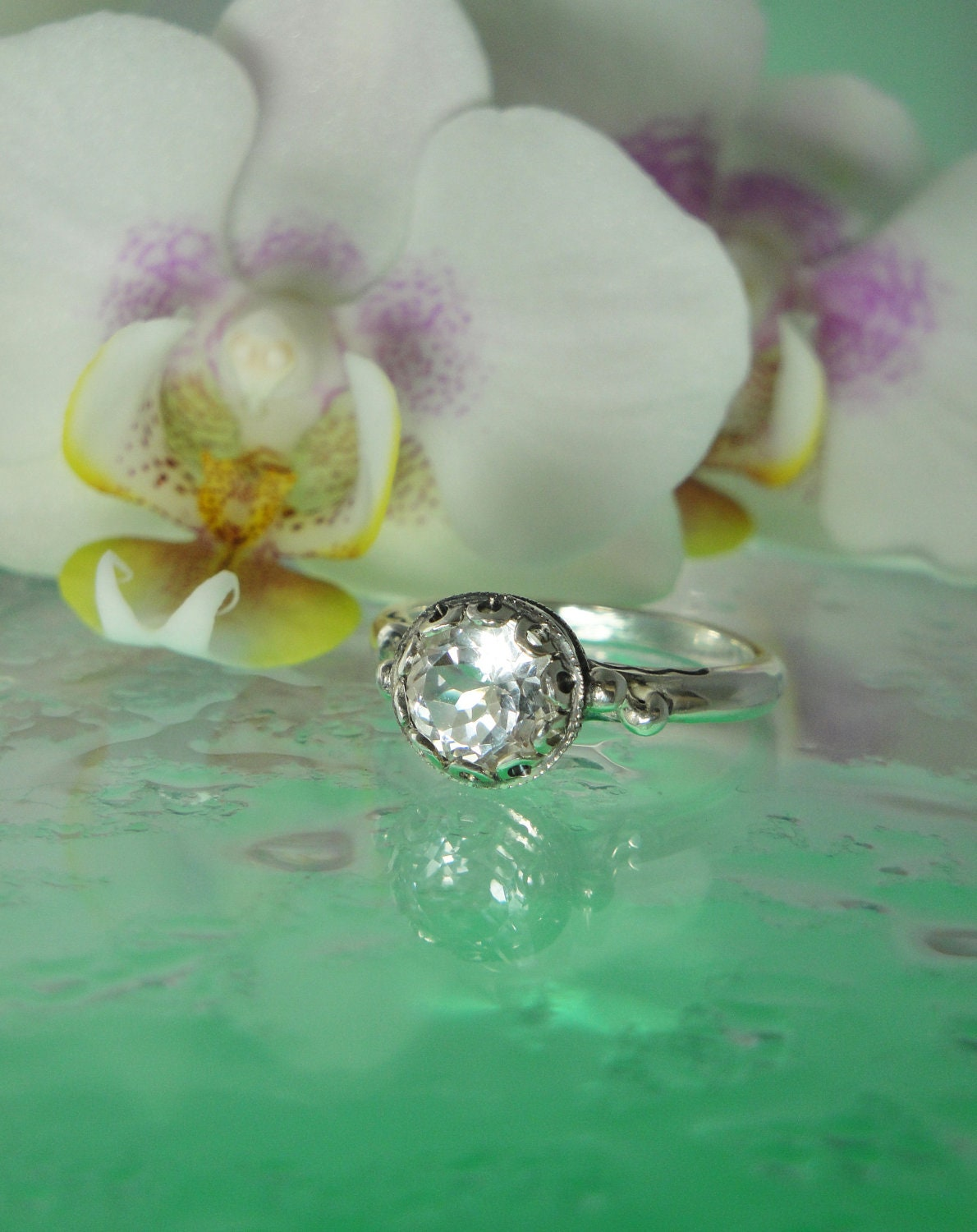 Other Archives  Herkimer Diamond Rings and Herkimer