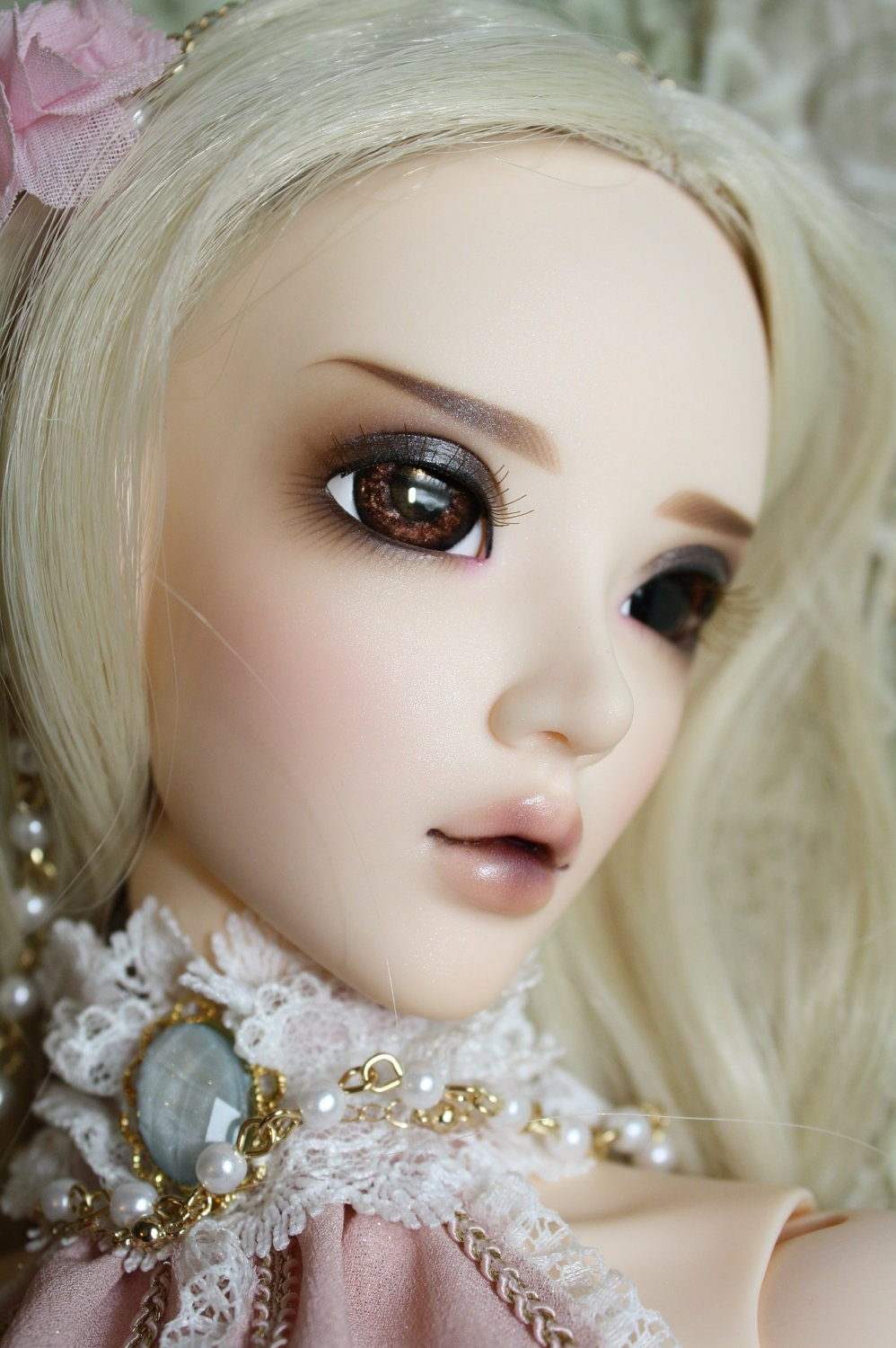 BJD eyes Doll eyes Hand made available in 12141618202224mm Chocolate Brownie made to order