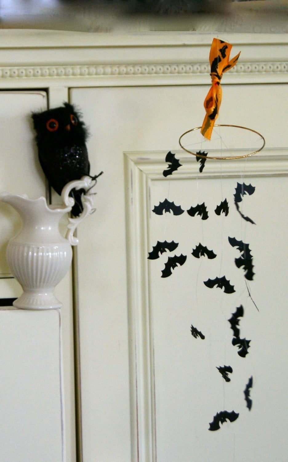 Spooky Hanging Bat Mobile, Mini