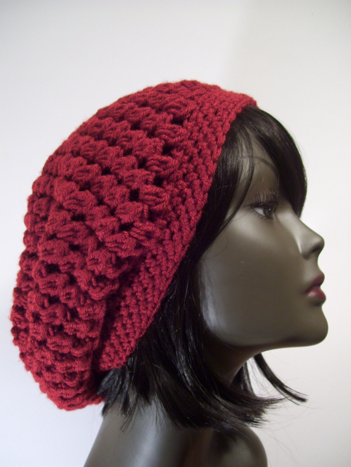 Crochet Slouchy Hat Patterns For Beginners Free : CROCHETED BEANIE PATTERNS FREE PATTERNS