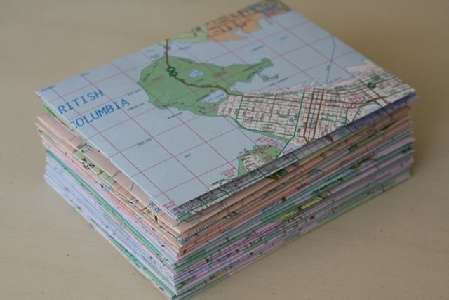 Atlas Map 4 Bar Envelopes set of 10