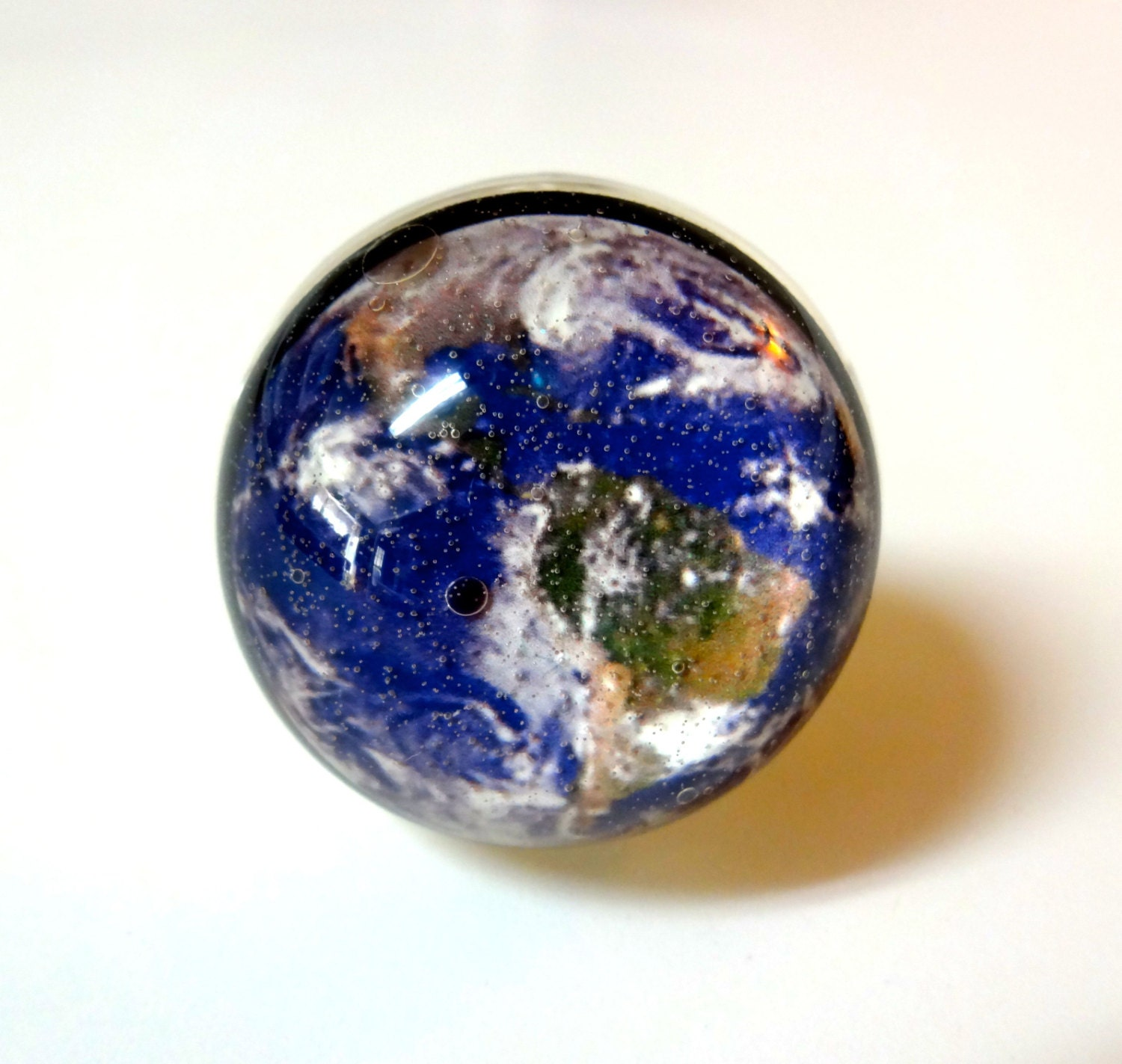 earth ring planet earth jewelry space ring earth by