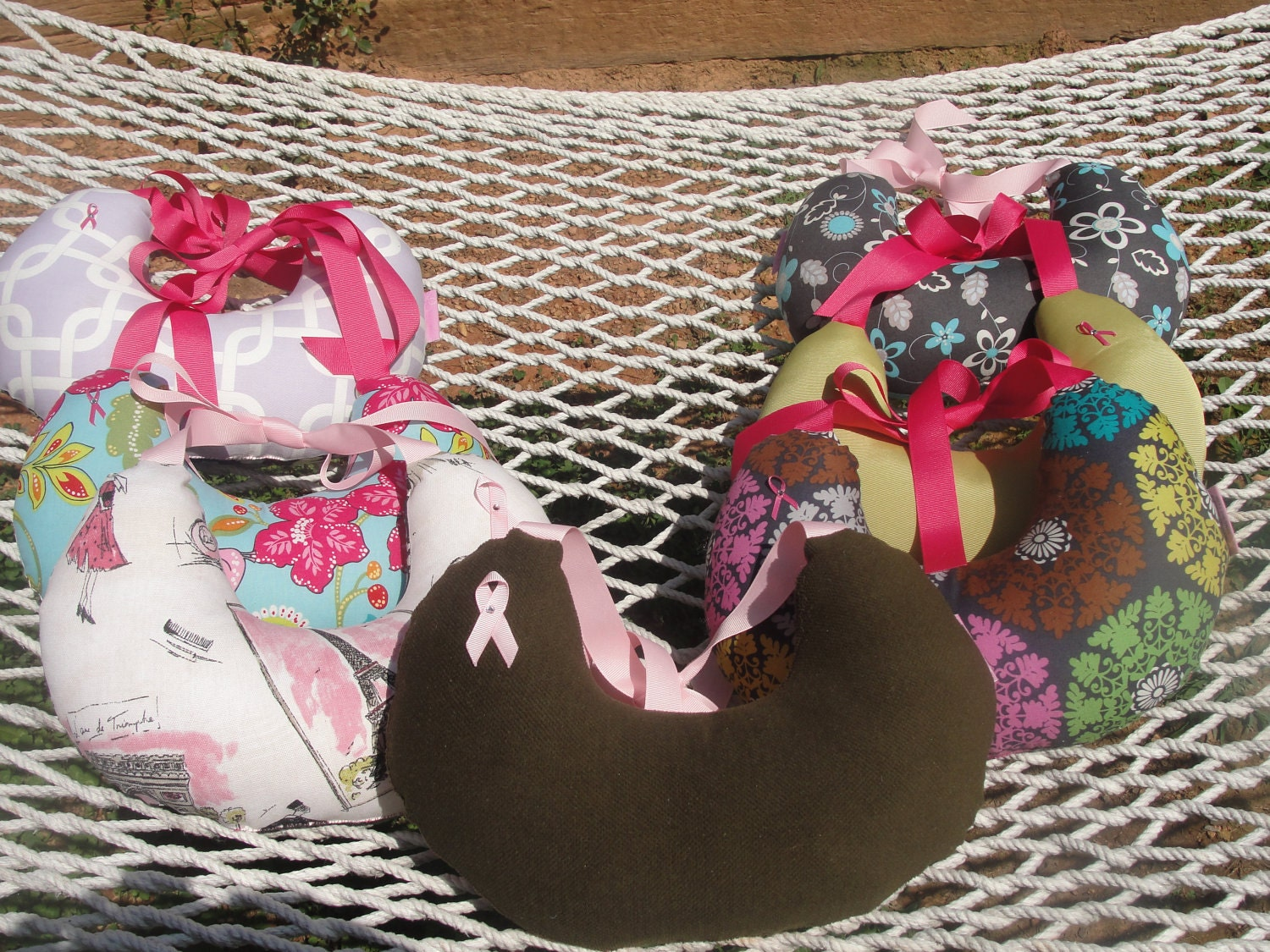 Violet- Grace Relief Breast Cancer Pillow