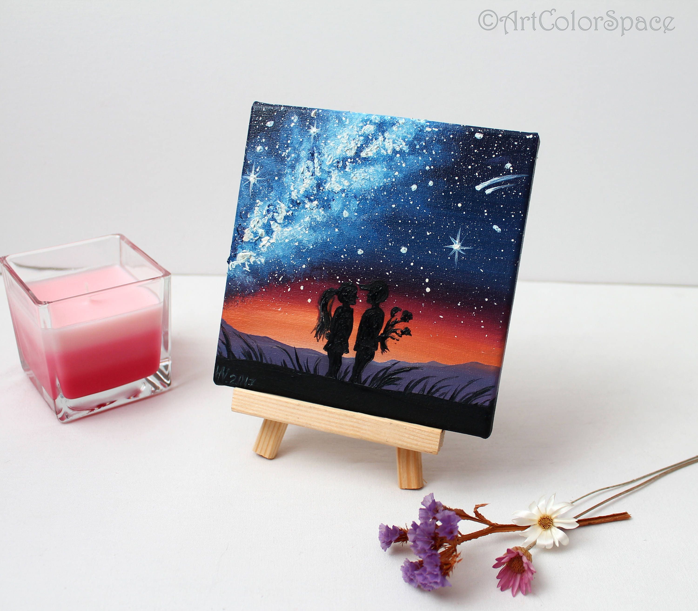 Liebe Malerei die valentinstaggeschenke für ihn Galaxy