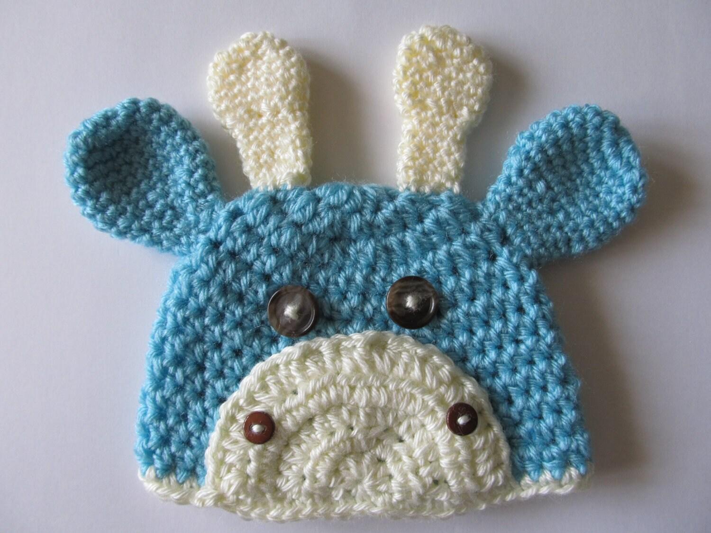 Crochet Giraffe Hat Pattern For Dogs : Crochet Baby Giraffe Hat Photo Prop by crochetjandra on Etsy