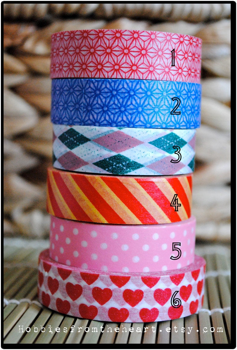 Washi Tape: One roll of your choice