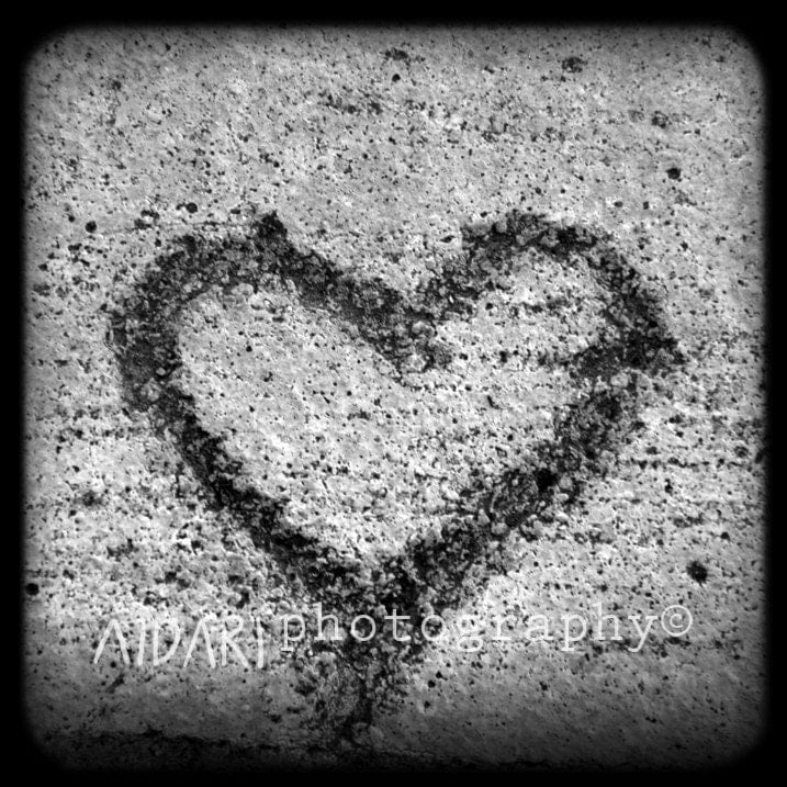 black and white photography love heart. Love, Black and White,