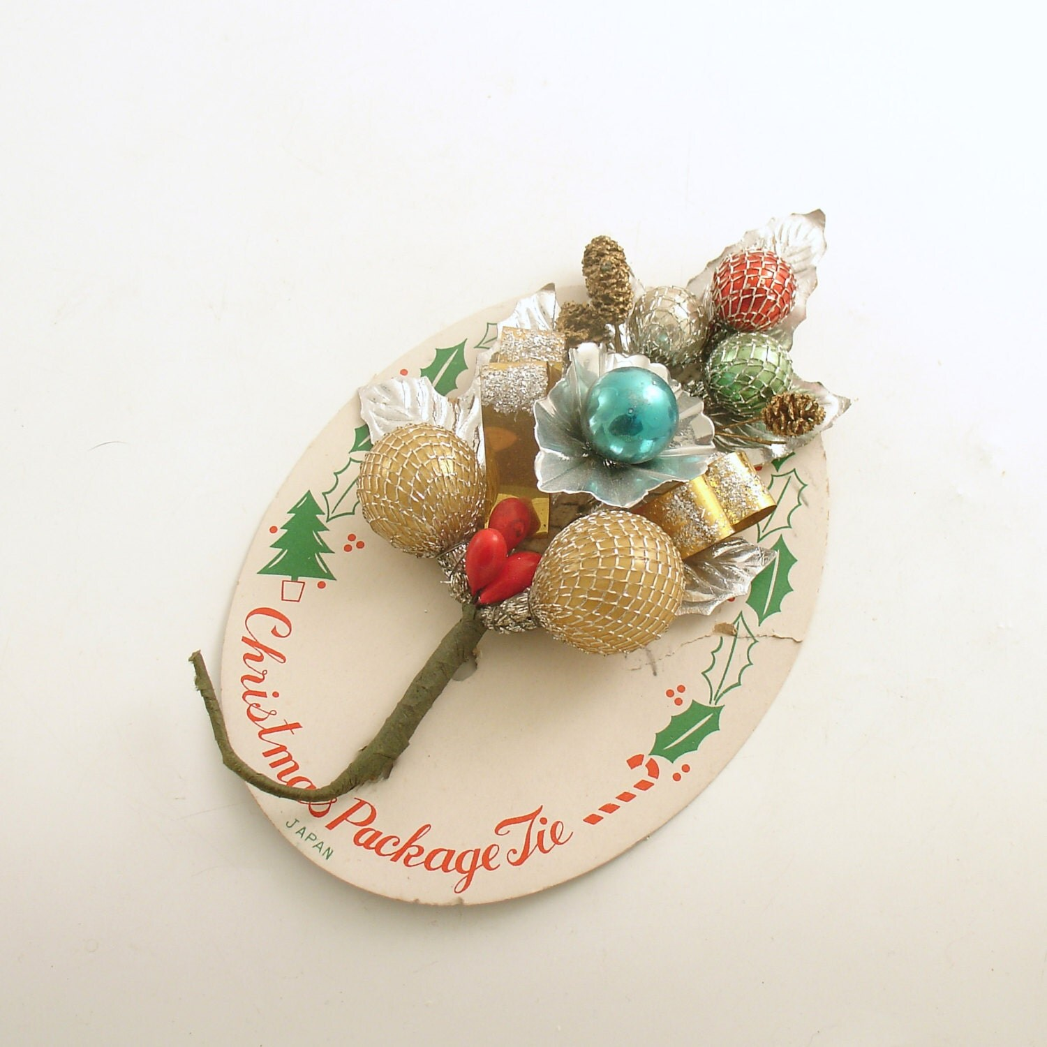 Vintage Christmas Corsage - efinegifts