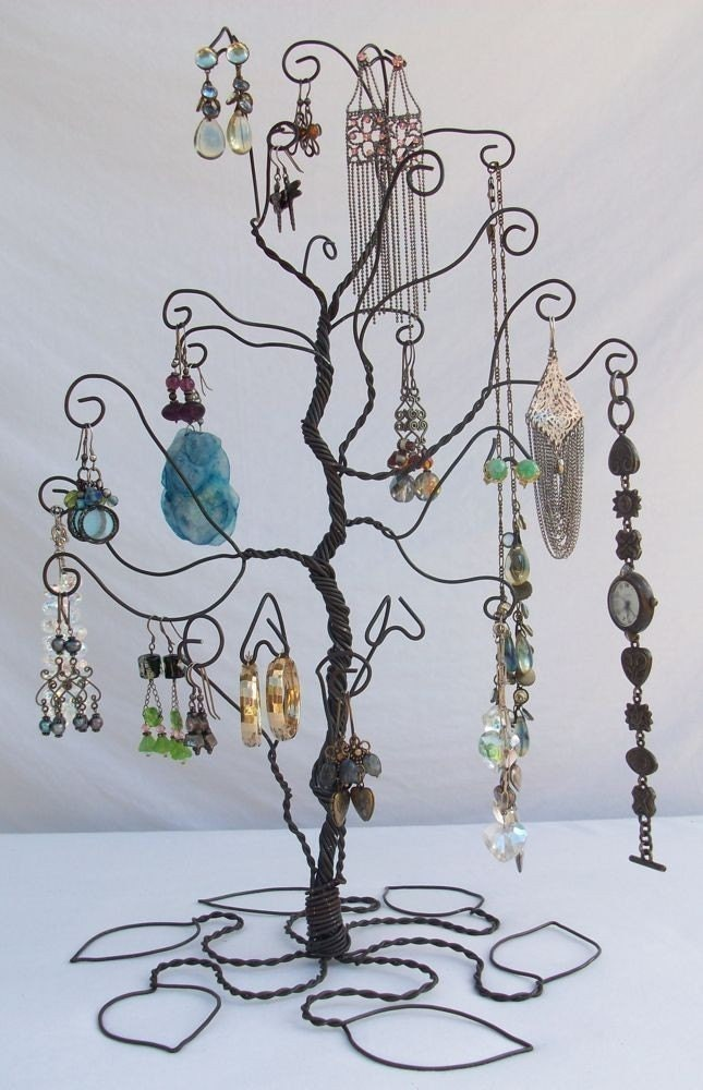 PRE ORDER Wire Earring Jewelry Tree Stand