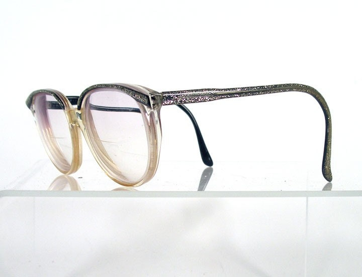 Vintage 1980s MIKLI Glitter Women's Eyeglass Frames