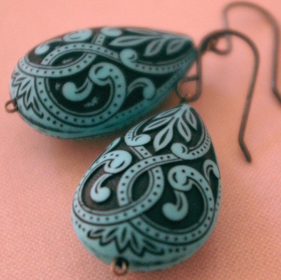 Etsy :: Turkish Lace Earrings from etsy.com