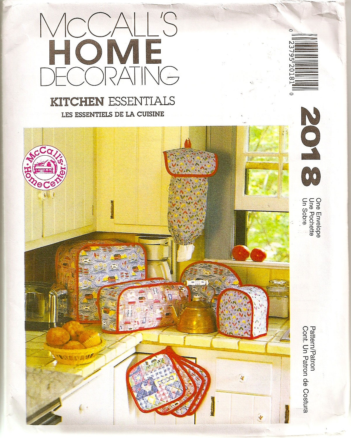 Kitchen decor sewing pattern cafe curtains appliance covers chair