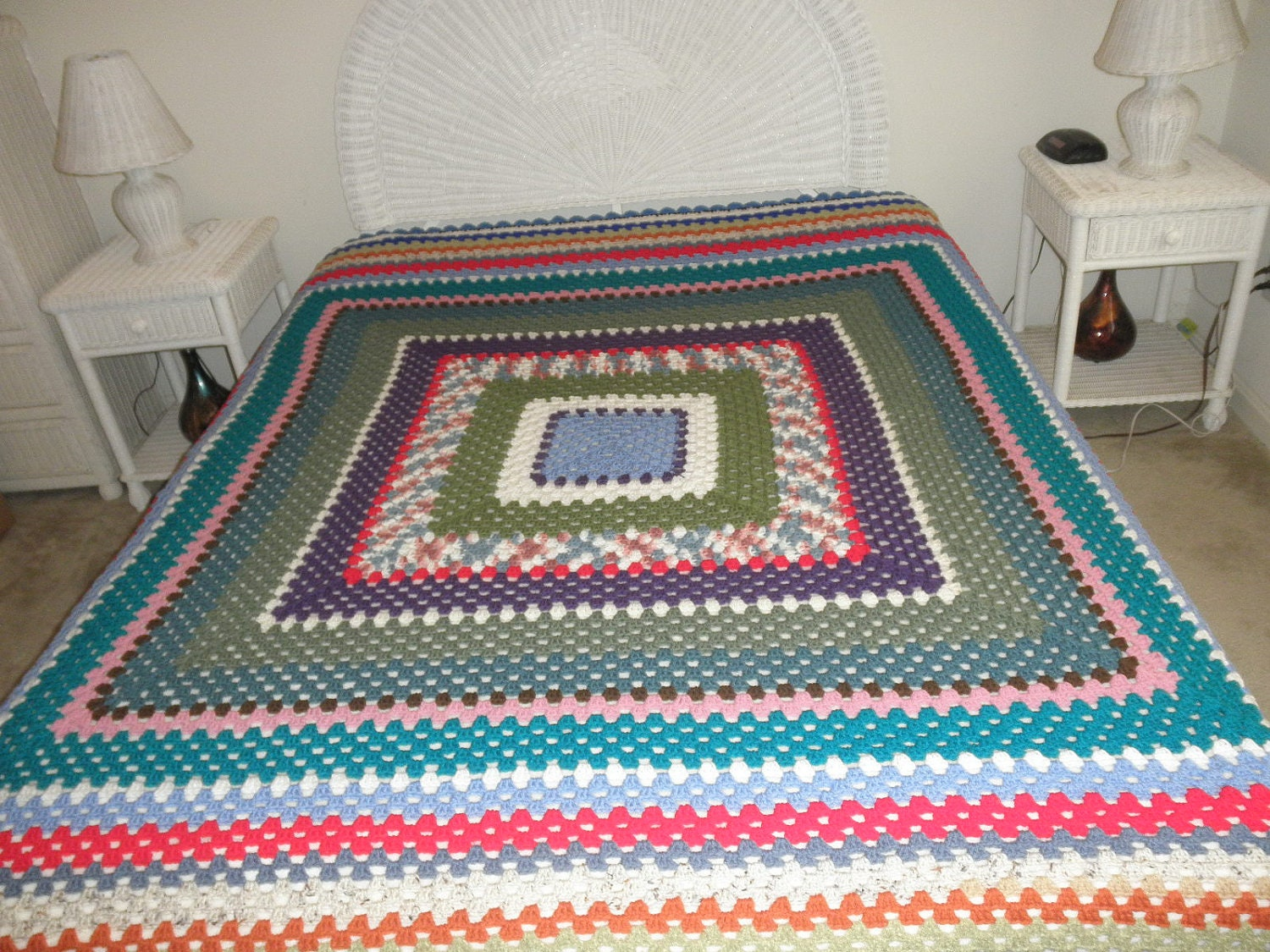 Crochet Pattern For Queen Size Afghan Dancox For