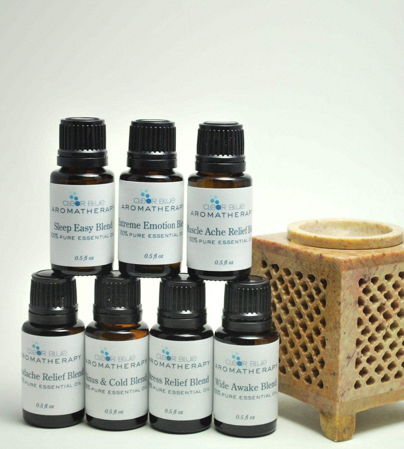 Headache Relief Pure Essential Oil Blend - Sample Size