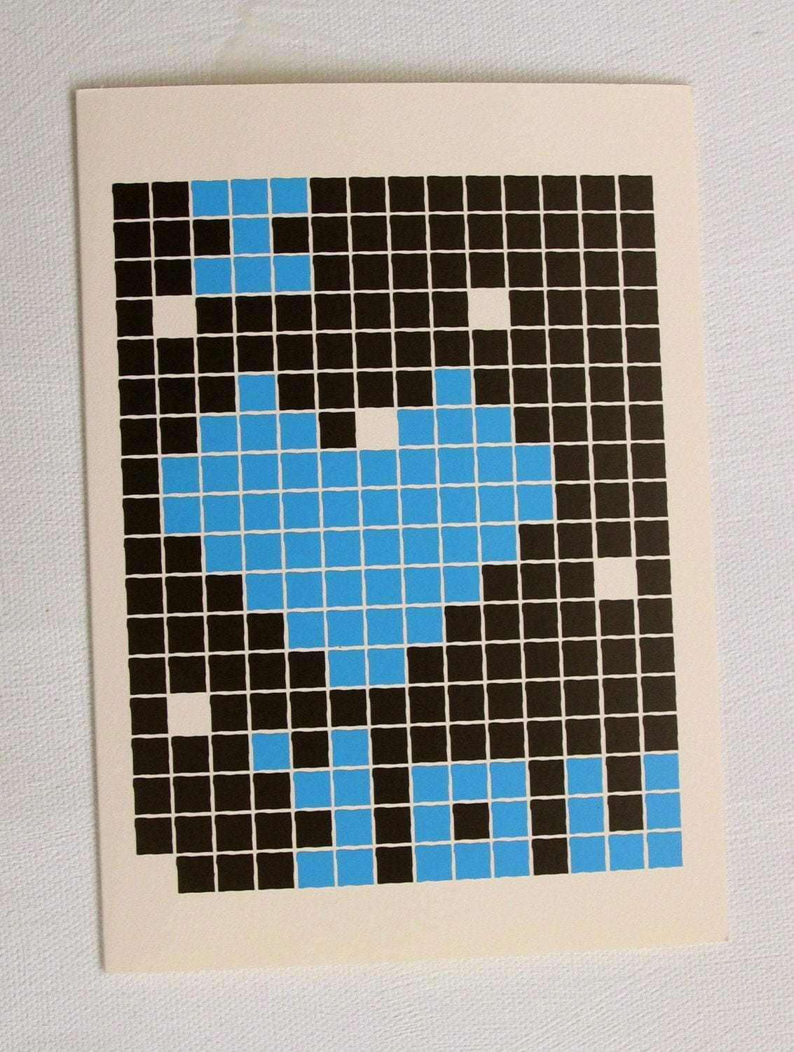 Our 8-bit Love card made it in Nylon Magazine!