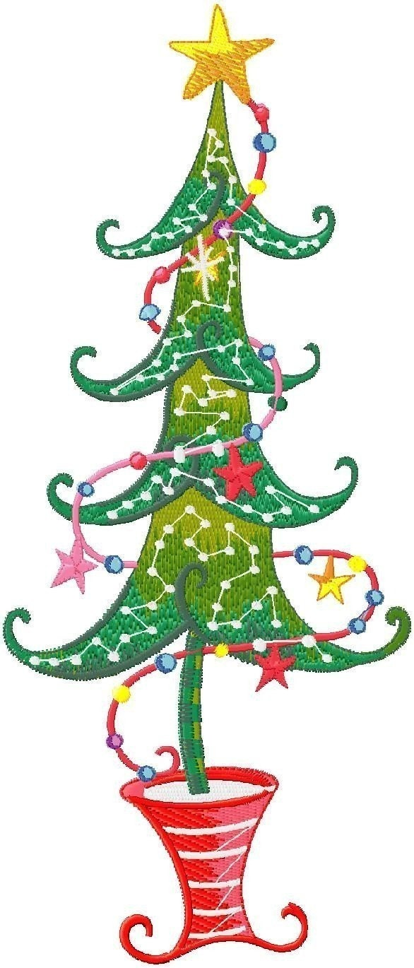 Machine Embroidery Christmas Quilting Designs