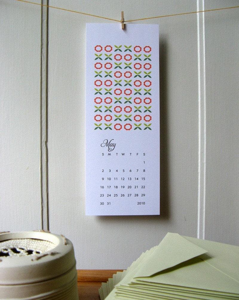 2010 Calendar Printable PDF