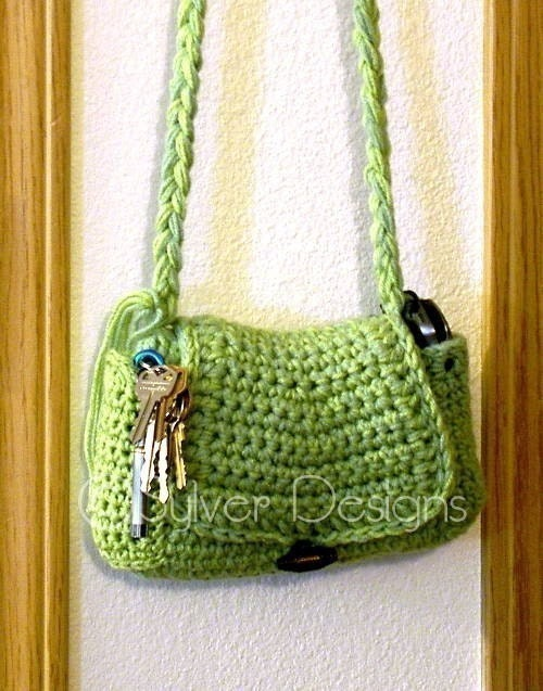 Quick and Easy Boho Purse crochet pattern by sylver on Etsy